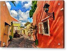 Curacao Colours Acrylic Print
