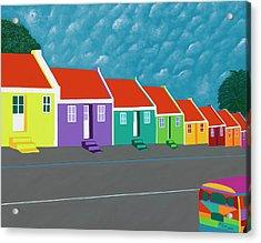 Curacao Dreams IIi Acrylic Print
