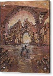 Curdle Gate Acrylic Print