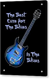 Cure For The Blues Shirt Acrylic Print