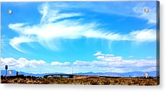 Dragon Cloud Over Suburbia Acrylic Print