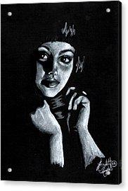 Curiosity Acrylic Print by Scarlett Royal
