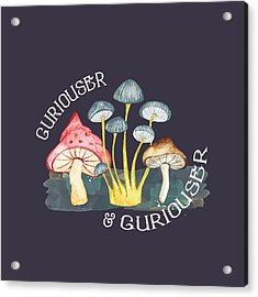 Curiouser And Curiouser Acrylic Print