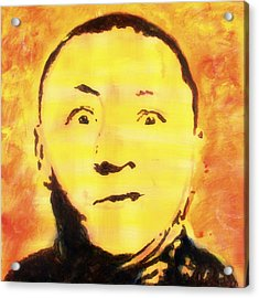Curly Howard Three Stooges Pop Art Acrylic Print