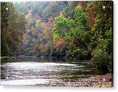 Current River 1 Acrylic Print by Marty Koch