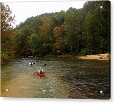 Current River 3 Acrylic Print by Marty Koch