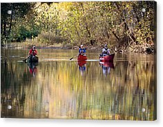 Current River Fall Float Acrylic Print