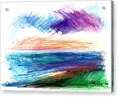 Currents Acrylic Print