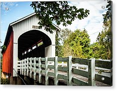 Currin Bridge Acrylic Print