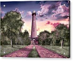 Currituck Beach Lighthouse 2 Acrylic Print