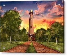 Currituck Beach Lighthouse 3 Acrylic Print