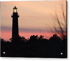 Currituck Beach Lighthouse At Sunset Acrylic Print