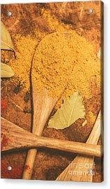 Curry Powder Spice Acrylic Print by Jorgo Photography - Wall Art Gallery