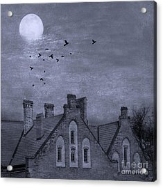 Curse Of Manor House Acrylic Print by Juli Scalzi