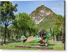 Curtiss Hawk Fighter Acrylic Print