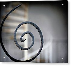 Curve Of Iron Acrylic Print