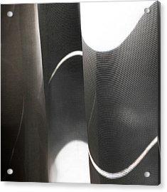 Curve Over Curve - Acrylic Print
