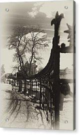 Curved Gate Acrylic Print