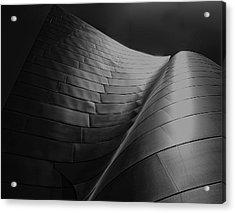 Curves Frank Gehry Aia Acrylic Print