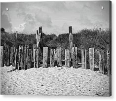 Cushendun Beach Acrylic Print