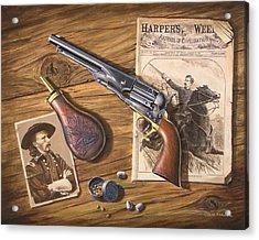'custer's Colt' Acrylic Print
