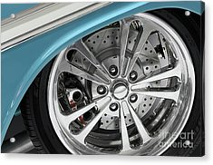 Custom Car Wheel Acrylic Print by Oleksiy Maksymenko
