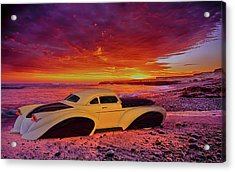 Acrylic Print featuring the photograph Custom Lead Sled by Louis Ferreira
