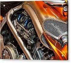 Custom Motorcycle Acrylic Print