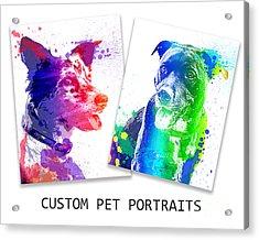 Custom Portrait Acrylic Print