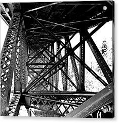 Cut River Bridge Acrylic Print