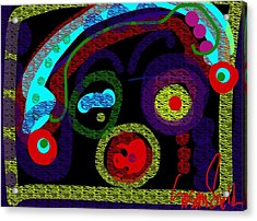 Cutie Petutie Acrylic Print