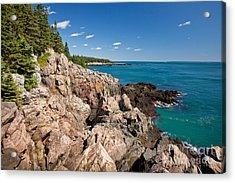 Cutler Cliffs 1 Acrylic Print
