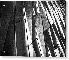 Cutting Design At Titanic Belfast Acrylic Print