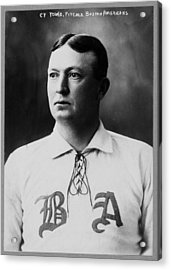 Cy Young Acrylic Print by Mountain Dreams