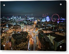 Acrylic Print featuring the photograph Cyber City by Stewart Marsden