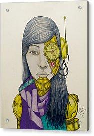 Cyborg Acrylic Print