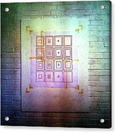 Cyclic Squares - 24 Acrylic Print