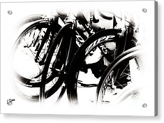 Cycling Art  Acrylic Print by Steven Digman