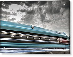 Acrylic Print featuring the photograph Cyclone by Caitlyn Grasso