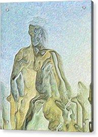 Cyclops Acrylic Print by Joaquin Abella