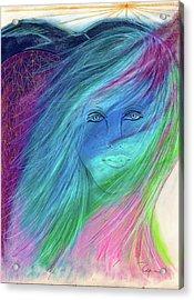 Cyndi 5th Dimension Acrylic Print