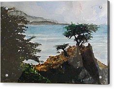 Cypress Acrylic Print by Dwight Williams