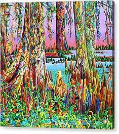 Cypress Spirit Rising Acrylic Print