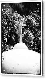 Cypriotic Crucifix Acrylic Print by John Rizzuto