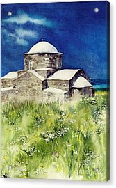 Cyprus The Old Church Acrylic Print