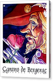 Acrylic Print featuring the painting Cyrano by Tim  Heimdal