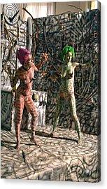 D Energy E Acrylic Print by Leigh Odom