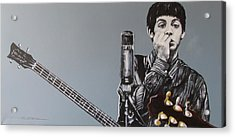 D-note Acrylic Print by Eric Dee