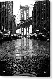 D U M B O  In The Rain Acrylic Print