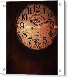 Día 4: Reloj. #project365 Acrylic Print